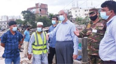 চট্টগ্রামে জলাবদ্ধতা নিরসন প্রকল্প পরিদর্শনে সিডিএ চেয়ারম্যান