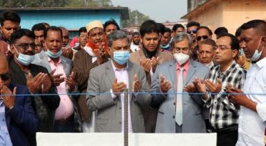 জয়পুরহাটের আক্কেলপুরে পাঁচটি স্কুলের ভিত্তিপ্রস্তর স্থাপন