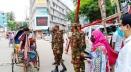 স্বাস্থ্যবিধি নিশ্চিতে মোহাম্মদপুরে সেনাবাহিনীর চেকপোস্ট