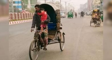 চট্টগ্রামে বাবা-ছেলের জীবন সংগ্রাম