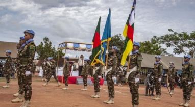 সেনাবাহিনীর কমান্ডোরা পেলো শান্তিরক্ষা মিশনে জাতিসংঘ শান্তিরক্ষা পদক